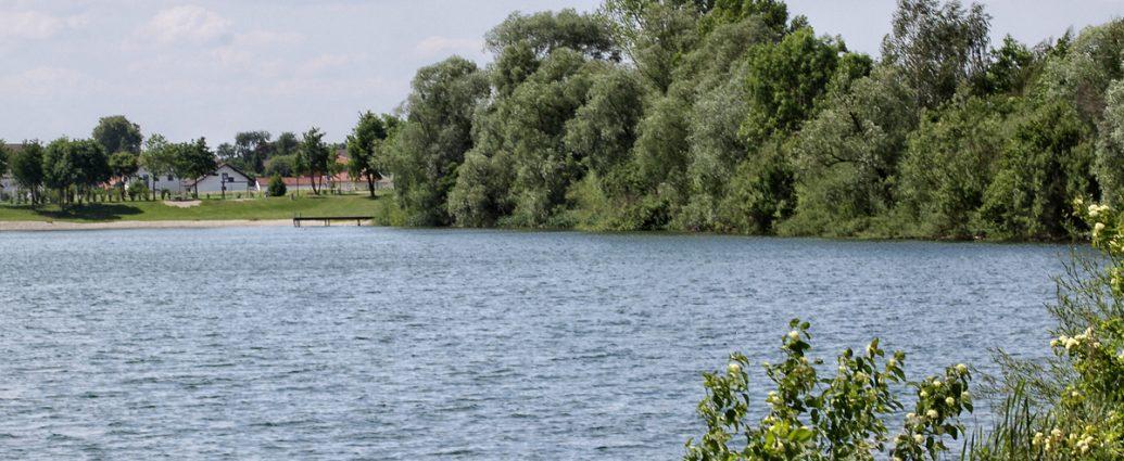 Fischen am Baggersee Hartkirchen